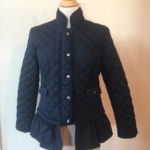 Light weight navy blue Joe Fresh jacket